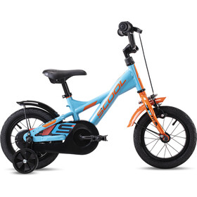 s'cool XXlite steel 12 Kids petrol/orange